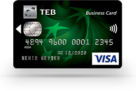 TEB Bonus Business Card