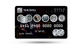 TEB Özel World Elite Card