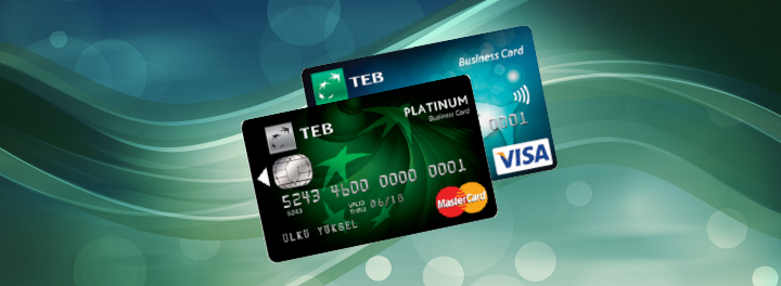 TEB Bonus Business Card | Corporate