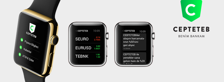 CEPTETEB Apple Watch Uygulaması